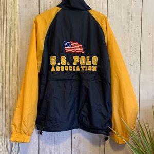 Vintage U.S. Polo Association Windbreaker